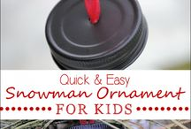 Christmas Gifts Made By Kids / Gifts that kids can make and give to grandparents, parents, teachers for Christmas gifts | Craft projects, personalized gifts, ornaments, artwork