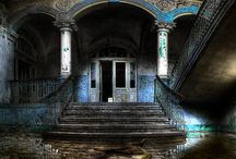 Старинные заброшенные особняки