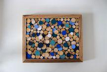 houten schijfjes