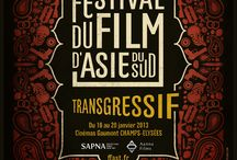 FFAST-Posters & Logos / Les affiches du FFAST  Poster's of the South Asian Transgressiv Film Festival