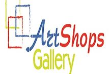 artshops.gallery / The new Art website from Israel: http://artshops.gallery Open a store fast and easy and start sell immediatly.  / by Eldad Marom