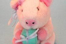 Festive Piggy ~ Birthday