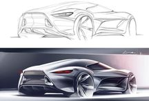 Sketch cars