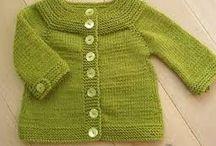 Knit / lavori realizati con la maglia ai ferri