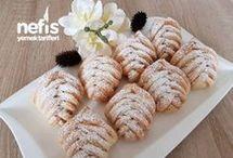 elmalı cevizli kurabiye