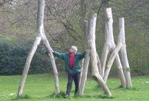 Garden Sculptures / Garden sculptures / by Brigitte Wawoe