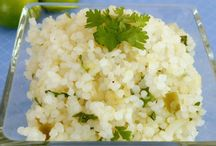 Low carb lime rice