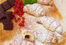 Leveles tésztából készült sütemények a konyhámból