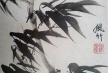 Японская и китайская живопись / Картины