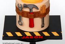 gereedschap cake