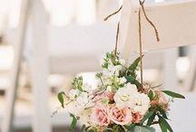 A garden wedding...