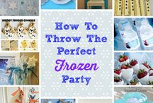How To Throw The Perfect Frozen Themed Party