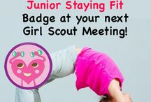 Junior Staying Fit Badge