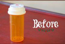 Pill Bottle Crafts