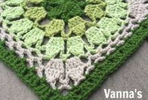 Crocheted - Granny squares