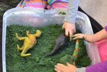 Sensory / Sensory play, early years