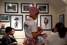 vsited restaurants & bars in london / by Agnieszka Hollis