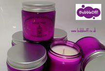 100% Natural Soy Bean Wax Candles