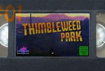 Thimbleweed Park / Meine Let's Plays zum Terrible Toybox  Point and Click Adventure Thimbleweed Park. Hier ist eine Leiche wirklich Dein kleinstes Problem.