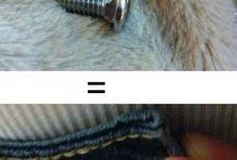 Smarte løsninger, slips, skjerf, sko, bukser