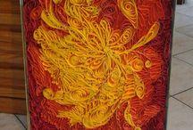 Donata's Quilling art / Lavori realizzati con tecnica Quilling.  Artista: Donata Febbraro