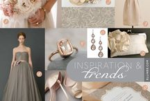 Wedding Colours - ivory and blush / by Madi Smith