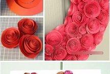 bricolage fleurs