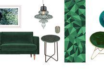 INTERIORS I Gorgeous Green
