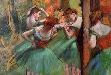 Edgar Degas / Hilaire-Germain-Edgar de Gas, más conocido como Edgar Degas (París, 1834 – ibídem, 1917), fue un pintor y escultor francés. Considerado uno de los fundadores del Impresionismo.
