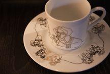 Elizabeth Romhild Design / Design on dinnerware