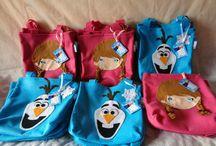Sacola surpresa / sacola maria cebola que produzo em feltro para lembrancinhas de festas infantis e ideias de sacolas