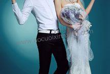 Áo cưới xinh xinh / Studio Áo Cưới Xinh Xinh chuyên bán, cho thuê các loại áo cưới ngoại nhập, chuyên chụp hình cưới, may áo cưới và trang điểm cô dâu. (Website: aocuoixinhxinh.com)