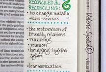Bible journaling / by Jessica Benhart