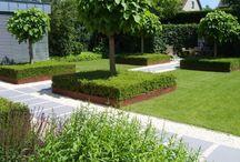 Ideeën voor de tuin en overdekte veranda