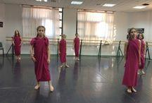 My theatre dance costumes