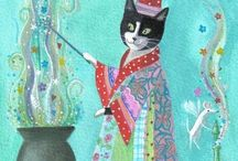 Art of Whimsy / Whimsical. My favorite kind of artwork. / by Renate Bell