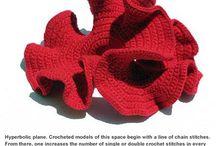 Hyperbolic crochet / Free form crochet
