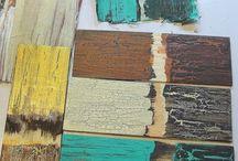 Painting / Crackle glaze