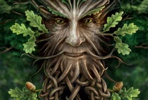 GREEN MAN & MASKS / Green man images, etc / by Debby Moore