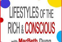 TheHavingitALLPodcast: Lifestyles of the Rich and Conscious / TheHavingItAllShow is a lighthearted, lifestyle show with a metaphysical twist. Myr fascinating guests share stories, inspiration, challenges, insights and tips in areas of health, wealth, relationships, spirituality, and lifestyle.