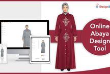 Abaya customization tool