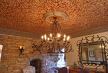 Ceiling Ideas / The floor is not the limit for what can be done with cork and a multitude of materials, in general. However, cork adds that extra special, durable, soundproofing touch that your decor budget and electric bill will love!