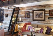 Cabins & Outdoor Living Spaces / by Kt Couture