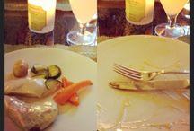 Food / Chicken and turkey with creamy mushroom sauce