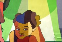 omar sirena / muralista argentino