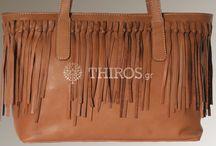 Boho leather bags