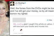 JK Rowling...is our QUEEN / POTTERHEAD