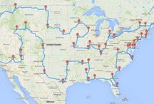 Creases of a Country / I'm planning my dream road trip. Hopefully I get to do it someday.