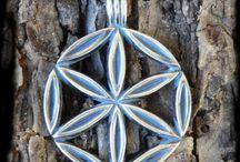 Svarga / pendants of slavic symbol