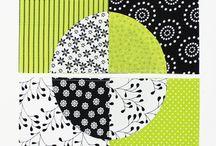 Cirkler / patchwork med cirkler